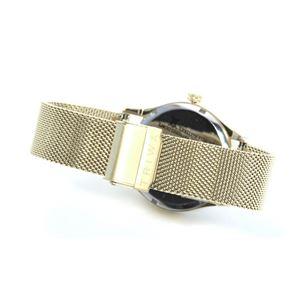 TRIWA(トリワ) LAST114.ME021313 SORT of BLACK GOLD (ソート オブ ブラック ゴールド ゴールド メッシュ) メンズ 腕時計(女子にも人気) h03
