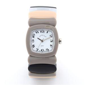 Time Will Tell(タイムウイルテル) Multi-GYRA-M MADISON グレーレインボウ 腕時計 h01