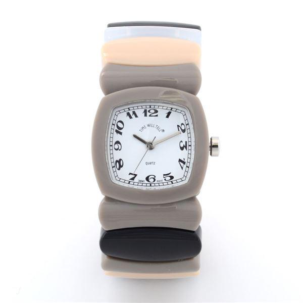 Time Will Tell(タイムウイルテル) Multi-GYRA-M MADISON グレーレインボウ 腕時計f00