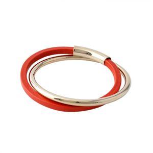 FURLA(フルラ) 828580 BSP4 FG0 ROSSO 2連 ブレスレット バングル VIVA BRACELETS h02