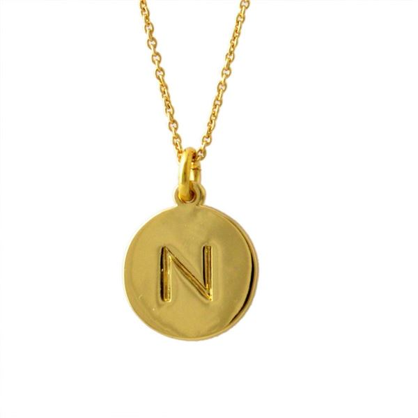 Kate Spade(ケイトスペード) WBRU7658-711 Gold one in a million イニシャル 「N」 ペンダント ネックレスf00