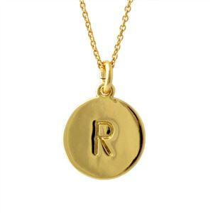 Kate Spade(ケイトスペード) WBRU7662-711 Gold one in a million イニシャル 「R」 ペンダント ネックレス h01