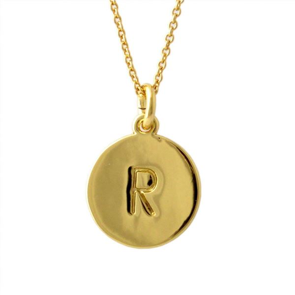 Kate Spade(ケイトスペード) WBRU7662-711 Gold one in a million イニシャル 「R」 ペンダント ネックレスf00