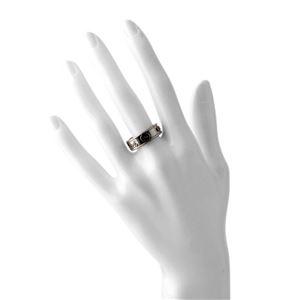 GUCCI(グッチ) 310441-J8400-8110 16号 GUCCI CRAFT LARGE RING ヴィンテージgucci エイジドパラジウム トレードマーク リング 指輪 h03