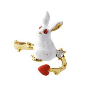 Les Nereides(レネレイド) ACJI606/1 ウサギモチーフ リング 指輪 アジャスタブル JARDIN IMAGINAIRE