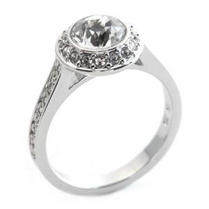 SWAROVSKI(スワロフスキー) Angelic エンジェリック クリスタル/クリスタル・パヴェ リング 指輪 サイズ50(日本サイズ9号) 1094776 h01