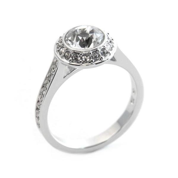 SWAROVSKI(スワロフスキー) Angelic エンジェリック クリスタル/クリスタル・パヴェ リング 指輪 サイズ50(日本サイズ9号) 1094776f00