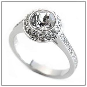 SWAROVSKI(スワロフスキー) Angelic エンジェリック クリスタル/クリスタル・パヴェ リング 指輪 サイズ50(日本サイズ9号) 1094776 h02