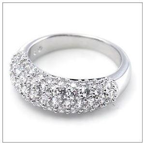 SWAROVSKI(スワロフスキー) 1082412 Maeva Ring クリスタルパヴェ リング 指輪 サイズ52(日本サイズ11号) h03