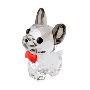 SWAROVSKI(スワロフスキー) 5213639 Puppy - Bruno キュートな子犬シリーズ フレンチブルドック 「ブルーノ」 クリスタル フィギュア 置物 h02