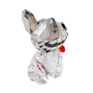 SWAROVSKI(スワロフスキー) 5213639 Puppy - Bruno キュートな子犬シリーズ フレンチブルドック 「ブルーノ」 クリスタル フィギュア 置物 h03