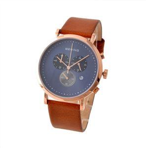 BERING(ベーリング) 10540-467 CLASSIC COLLECTION クロノグラフ メンズ腕時計 h01