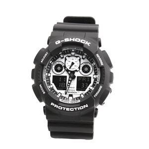 CASIO(カシオ) GA100BW-1ACR 「G-SHOCK 海外モデル」 メンズ 腕時計 h01
