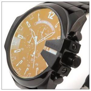 DIESEL(ディーゼル) メンズ 腕時計 人気のデカ系クロノグラフウオッチ 見る角度で色見が変化するホログラム・クリスタル。 DZ4318 h02