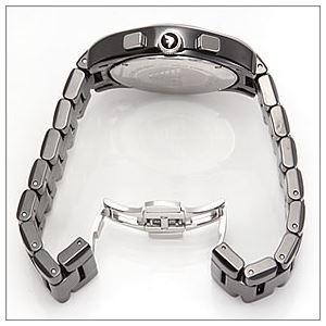 EMPORIO ARMANI(エンポリオアルマーニ) メンズ 腕時計 クロノグラフ セラミックブレス AR1400 h02