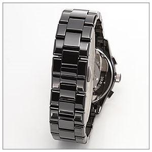 EMPORIO ARMANI(エンポリオアルマーニ) メンズ 腕時計 クロノグラフ セラミックブレス AR1400 h03
