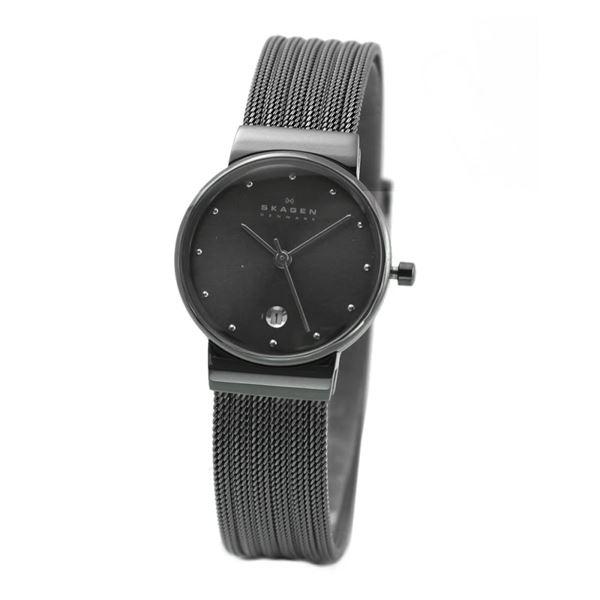 SKAGEN(スカーゲン) 355SMM1 レディス腕時計 メッシュストラップf00