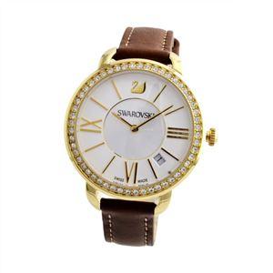 SWAROVSKI(スワロフスキー) 5095940 レディース 腕時計 Aila Day Brown Yellow Gold Tone h01