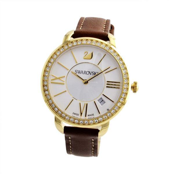 SWAROVSKI(スワロフスキー) 5095940 レディース 腕時計 Aila Day Brown Yellow Gold Tonef00
