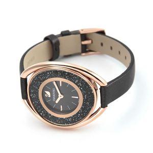 SWAROVSKI(スワロフスキー) 5230943 レディース 腕時計 Crystalline Oval Gray (クリスタルライン・オーバル) h02
