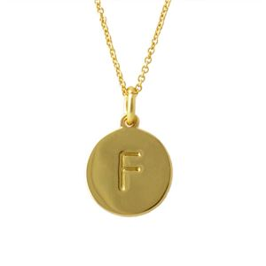 Kate Spade (ケイトスペード) WBRU7648-711 Gold one in a million イニシャル 「F」 ペンダント ネックレス h01