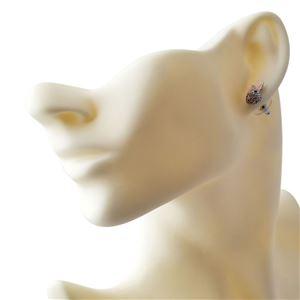 Kate Spade (ケイトスペード) WBRUD589-922 clear/silver MAKE MAGIC rabbit studs ウサギモチーフ クリスタルパヴェ スタッド ピアス h03