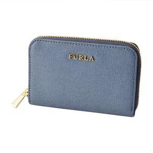 FURLA (フルラ) 856437 RI09 B30 DOLOMIA バビロン キーリング付 コインケース BABYLON KEYCASE ZIP AROUND h01