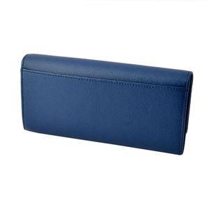 FURLA (フルラ) 856529 PN84 B30 BLU GINEPRO 二つ折り長財布 フラップ ウォレット BABYLON XL h02