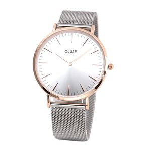 CLUSE (クルース) CL18116 LA BOHEME (ラ・ボエーム メッシュ ローズゴールド/シルバー 38mm) h01