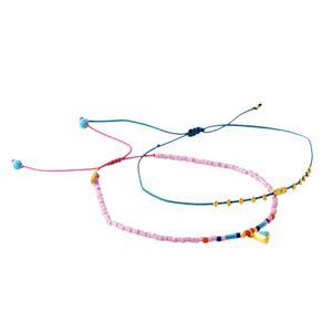 CHAN LUU (チャンルー) BG-5254 D LK MIX Dainty Bracelet シングルブレスレット 2本セット