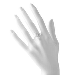 CHAN LUU (チャンルー) RGSF-1343 MNS 6 シャンパン ダイアモンド 0.03ct ムーンストーン付 リング 指輪 日本サイズ11.5号相当
