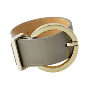 Maison Boinet (メゾンボワネ) 95145G-79-77-M Gabardine 丸型 ラウンドバックル ブレスレット バングル 40mm