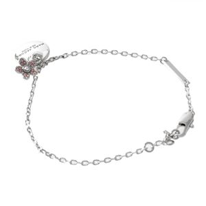 MARC JACOBS (マークジェイコブス) M0012199-040 Silver コイン デイジー ブレスレット MJ Coin Daisy Bracelet