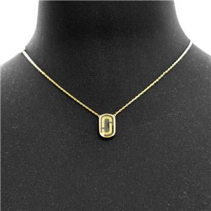 MARC JACOBS (マークジェイコブス) M0012394-065 M0010371-098 「J」ロゴモチーフ ペンダント ネックレス Icon Enamel Pendant