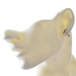 kate Spade (ケイトスペード) WBRUE242-100 White フラワーモチーフ スタッド ピアス Shine On Flower Studs