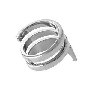 Calvin Klein (カルバンクライン) KJ3UMR000107 3連 リング 指輪 7号 (日本サイズ13号相当) BEYOND