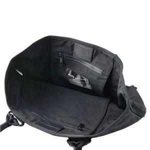 MARC JACOBS (マークジェイコブス) M0011222-001 Black ミリタリーロゴプリント トートバッグ スモール A4サイズ対応 New Logo Tote Small