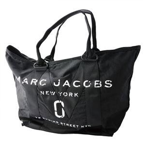 MARC JACOBS (マークジェイコブス) M0011223-001 Black ミリタリーロゴプリント トートバッグ A4サイズ対応 New Logo Tote