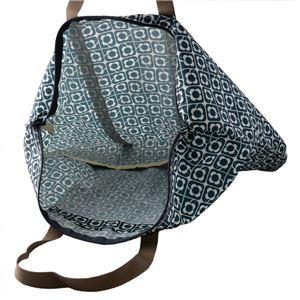 Orla Kiely (オーラカイリー) 17SEDLB160 Navy トラベル ショルダーバッグ 旅行かばん DISTY LOVE BIRDS Foldaway Travel Bag