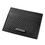 EMPORIO ARMANI (エンポリオアルマーニ) YEM320 YCG6J 80001 編み込みレザー カードケース 名刺入れ