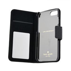 kate Spade (ケイトスペード) 8ARU1645 45 バイカラー 手帳型 アイフォン7専用ケース スマートフォンカバー IPHONE CASES LEATHER WRAP FOLIO - 7