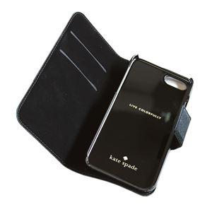 kate Spade (ケイトスペード) 8ARU2154 11 バイカラー 手帳型 アイフォン7専用ケース スマートフォンカバー Leather Wrap Folio - 7 I-phone case