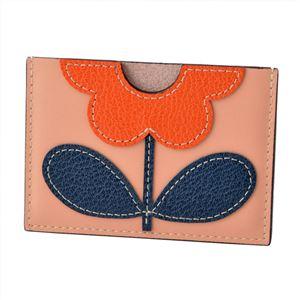 Orla Kiely (オーラカイリー) 17SBGFL111 Marshmallow カードケース 名刺入れ GIANT FROWER Card Holder