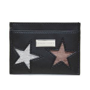 STELLA McCARTNEY (ステラマッカートニー) 431019 W8141 1000 スター 星型パッチワーク カードケース 名刺入れ Credit Card Case Eco Alter Nappa Multicolor Stars