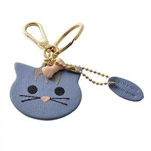 FURLA (フルラ) 905018 TEMPESTA RN45 MTS 猫モチーフ キーリング バッグチャーム VENUS KEYRING CAT