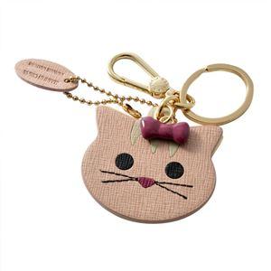 FURLA (フルラ) 905019 MOONSTONE RN45 MTS 猫モチーフ キーリング バッグチャーム VENUS KEYRING CAT
