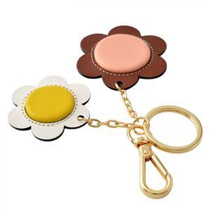 Orla Kiely (オーラカイリー) 17SBGFL568 Marshmallow キーリング キーホルダー GIANT FROWER Key Ring