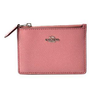 COACH (コーチ) 87077 Sv/Glitter Rose(SVMPG) ミニスキニー パスケース 小銭入れ・キーリング付 マルチケース MINI SKINNY ID CASE