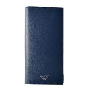 EMPORIO ARMANI (エンポリオアルマーニ) YEM474 YAQ2E 81960 イーグルロゴ メンズ 小銭入れ付 二つ折り財布