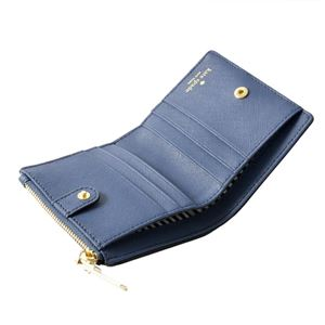 kate Spade (ケイトスペード) PWRU5451 424 パスケース付 二つ折り ミニ財布 CAMERON STREET adalyn
